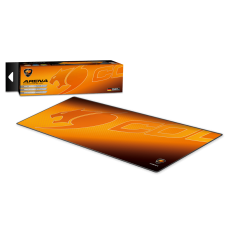 MOUSE PAD ARENA EXTRA LARGE ORANGE